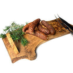 Roe deer sausage - 300 g