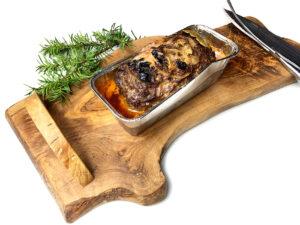 Pieczeń rzymska z jelenia