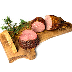 Wild boar ham hot-smoked - 300 g