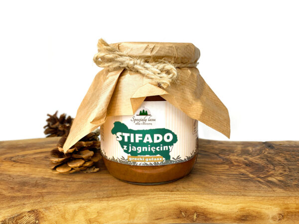 Stifado z jagnięciny - grecki gulasz