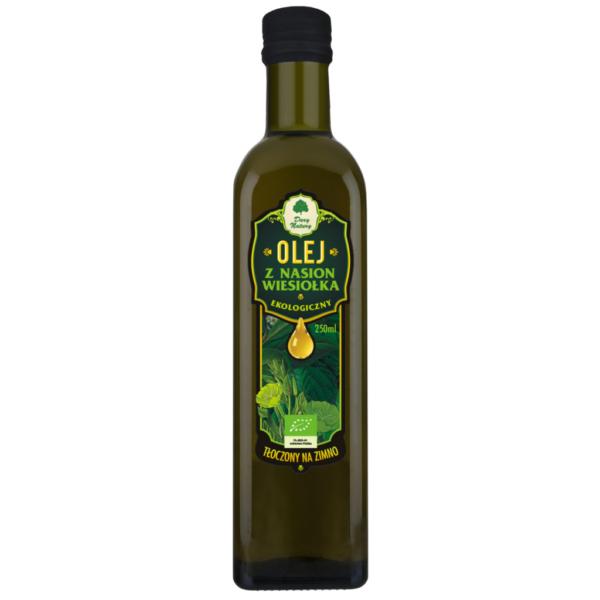 Olej z Nasion Wiesiołka tłoczony na zimno - 250 ml