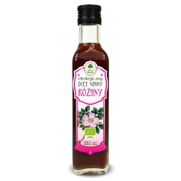 Ocet Winny Różany - 250 ml