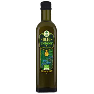 Olej Lniany tłoczony na zimno - 250 ml