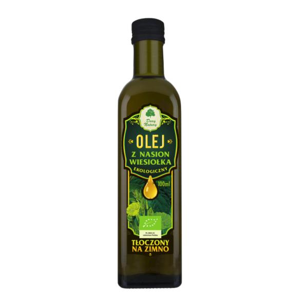 Olej z Nasion Wiesiołka tłoczony na zimno - 100 ml
