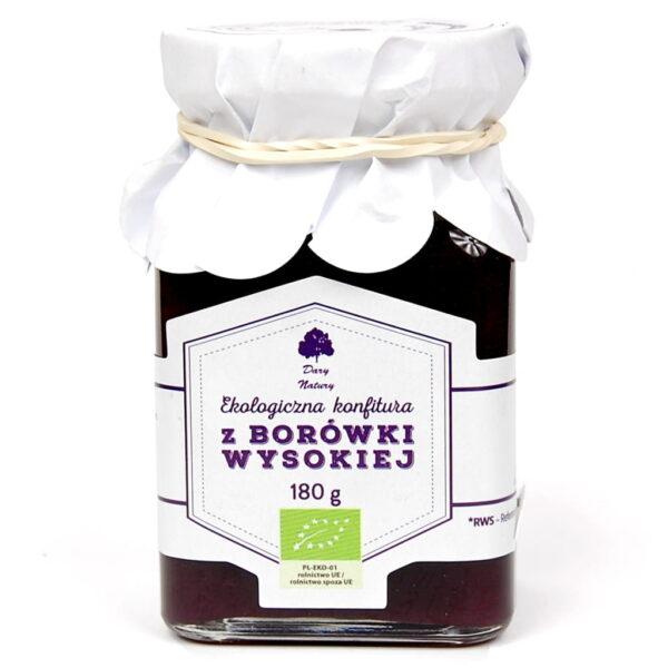 Konfitura z Borówki Wysokiej - 180 g