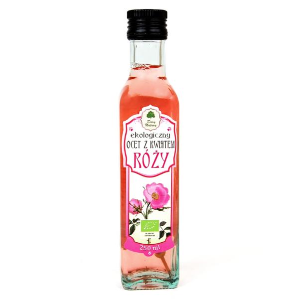 Ocet z kwiatem róży - 250 ml