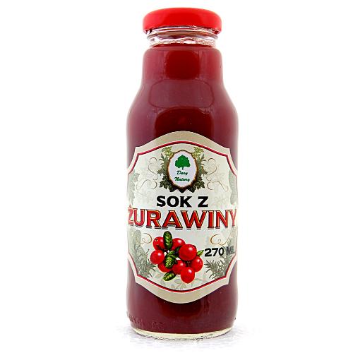 Sok z Żurawiny - 270 ml