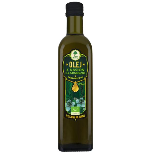 Olej z Nasion Czarnuszki tłoczony na zimno - 250 ml
