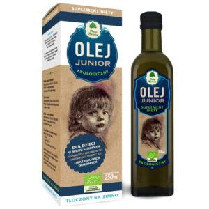 Olej Junior dla dzieci w wieku szkolnym - 250 ml