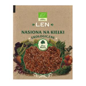Len - nasiona na kiełki
