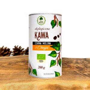 Kawa czarna mielona z Chagą - 200 g