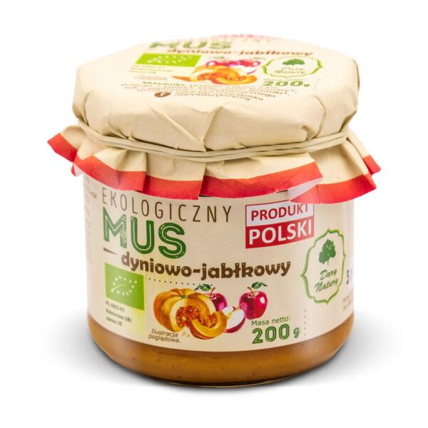 Mus dyniowo-jabłkowy - 200 g