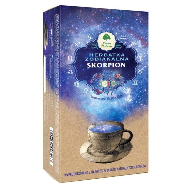 Skorpion – herbatka zodiakalna - 50 g (20×2,5 g)