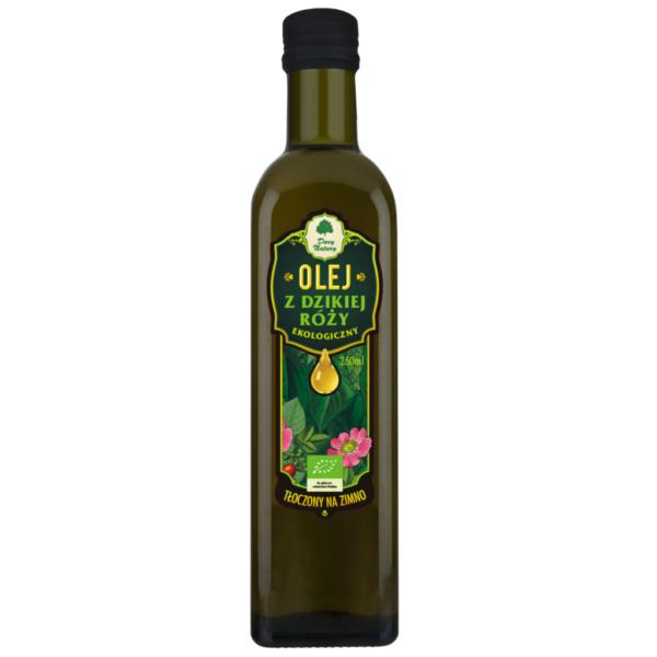 Olej z Dzikiej róży tłoczony na zimno - 250 ml