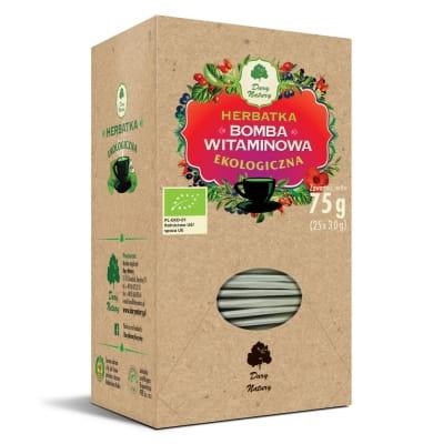 """Herbatka """"Bomba Witaminowa"""" - 75 g (25 x 3 g)"""