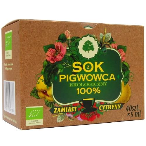 Sok z pigwowca w saszetkach - 40 szt x 5 ml