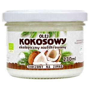 Olej Kokosowy tłoczony na zimno - 230 ml
