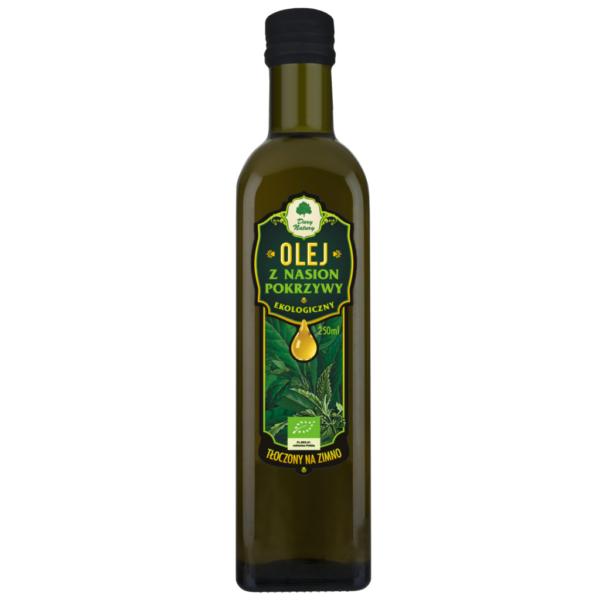 Olej z Nasion Pokrzywy tłoczony na zimno - 250 ml
