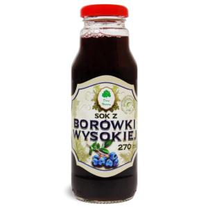 Sok z borówki wysokiej - 270 ml