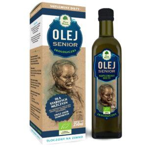 Olej Senior dla starszych mężczyzn - 250 ml