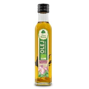 Olej Czosnek Bazylia - 250 ml