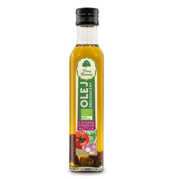 Olej Czosnek Pomidor Bazylia - 250 ml
