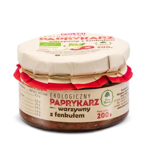 Paprykarz Warzywny z Fenkułem - 200 g