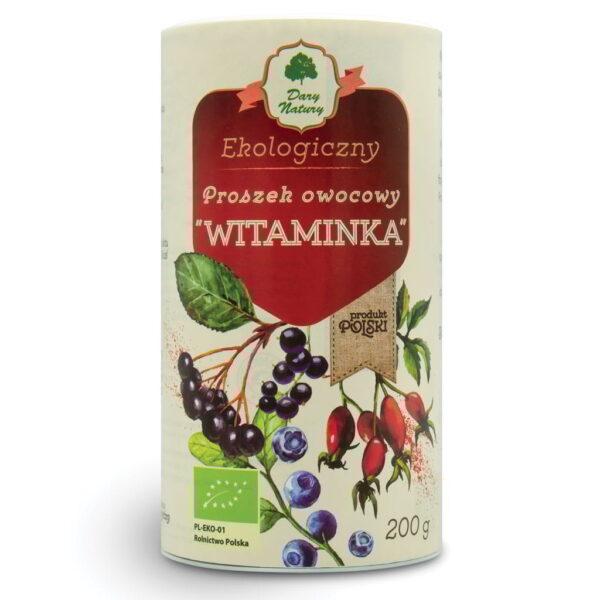 """Proszek owocowy """"Witaminka"""" - 200 g"""